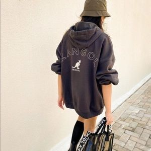 H&M Kangol oversized hoodie limited edition NWT